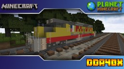 Minecraft DDA40X Locomotive Minecraft Project