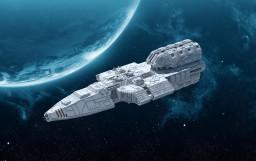 TTC: Guardian Class Light Cruiser Minecraft Map & Project