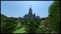 Hyrule Castle (The Legend of Zelda: Ocarina of Time) Minecraft Project