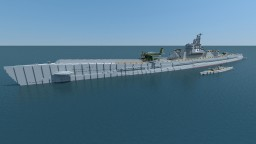 IJN I-400 5:1 and 1:1 Minecraft Map & Project