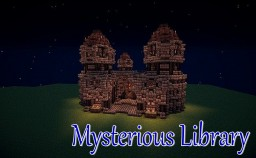 Medieval Mysterious Library Minecraft