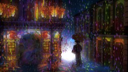 Hard Rain  (Impressionism) Minecraft Project