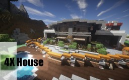 4X House Minecraft Project