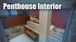 Modern Penthouse Interior Minecraft Map & Project