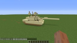 [PC] Driveable M1 Abrams Minecraft Map & Project