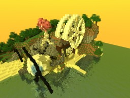 Mosyghy - a Futuristic build Minecraft Map & Project
