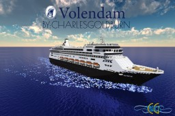 Volendam 1:1 Scale Cruise Ship [+Download] Minecraft Map & Project