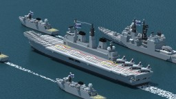 [RP] Invincible Class Aircraft Carrier Minecraft