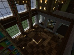 Luxury Penthouse Suite ~ 1 bed, 1 bath, 250 square blocks Minecraft Map & Project