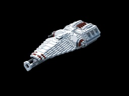 TTC: Picket Class Strike Corvette Minecraft Map & Project