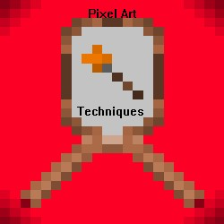 Pixel Art Techniques! Minecraft Blog Post