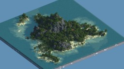 Tropical Paradise : My First WorldPainter Map ;3 Minecraft