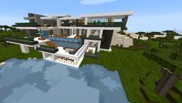 Ky's Modern Mansion Minecraft Project