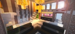 Evening Cloud - (Sky Villa) Minecraft Map & Project