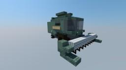 Combine Harvester Minecraft Map & Project