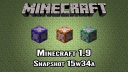 Snapshot 15w34a - Sheilds, Potions & Command Blocks Minecraft Blog Post
