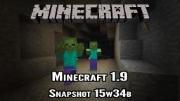 Minecraft Snapshot 15w34b - New Combat Mechanics Minecraft Blog Post