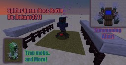 Spider Queen Boss Battle (1.8.8) Minecraft Map & Project