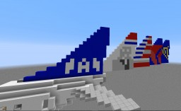 Boeing 737-800 Minecraft Map & Project