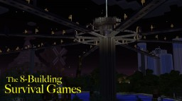 The 8-Building Survival Games Minecraft Project