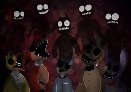 What i think the full story of FNAF is (Yes i am an enragement child) Minecraft Blog Post