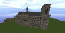 -=Notre Dame=-=Scale Based=- Minecraft Project