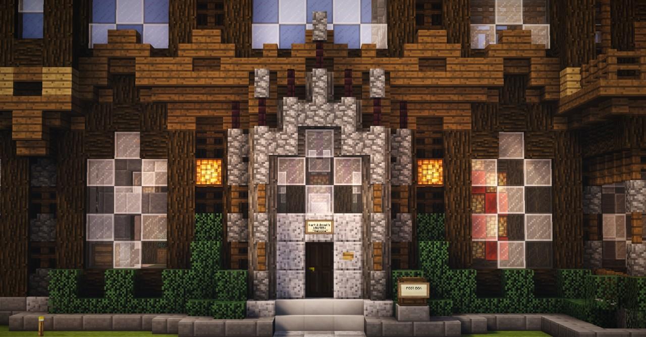 Blog: Mart & Angel's Mansion / Building Essentials Tutorial