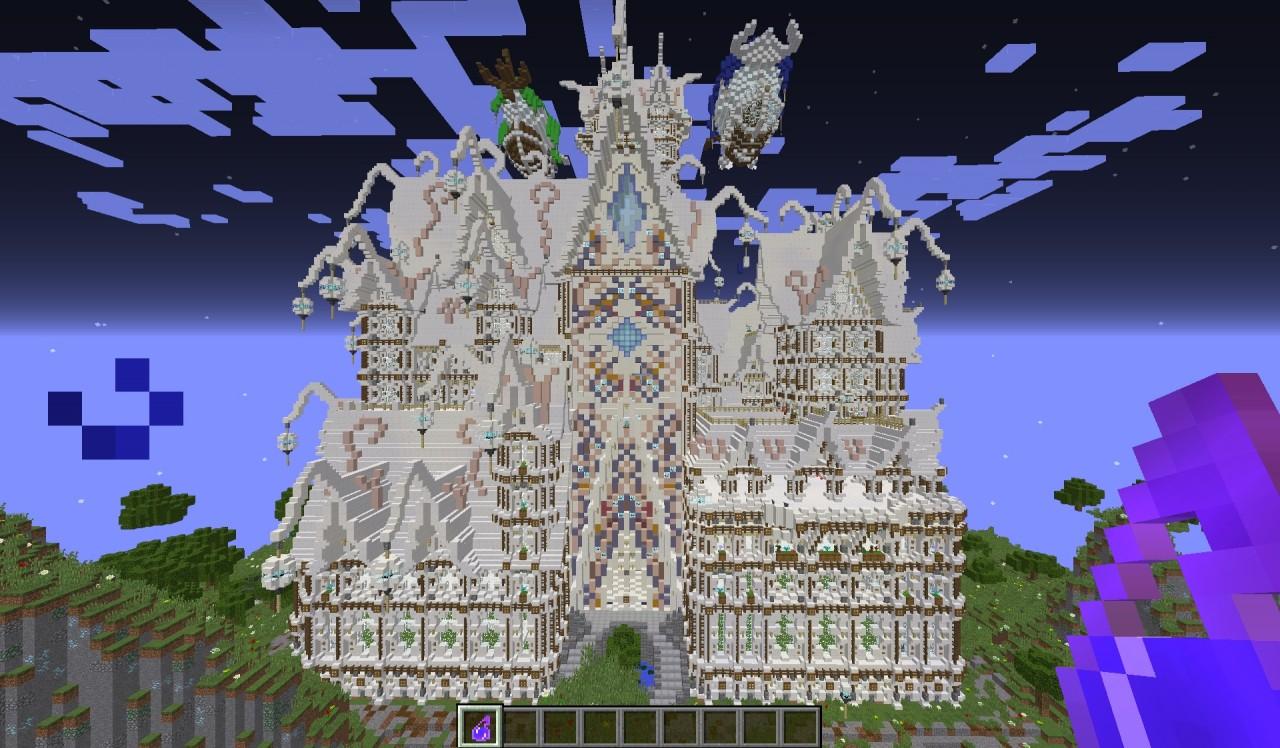 Quartz U0026 39 O Castle Minecraft Project