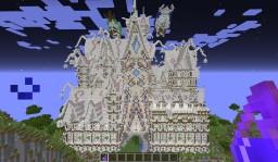 Quartz'O Castle Minecraft Project