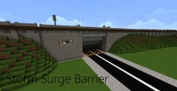 Storm Surge Barrier Minecraft Map & Project