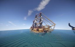 Commercial ship 1:1 Minecraft Map & Project