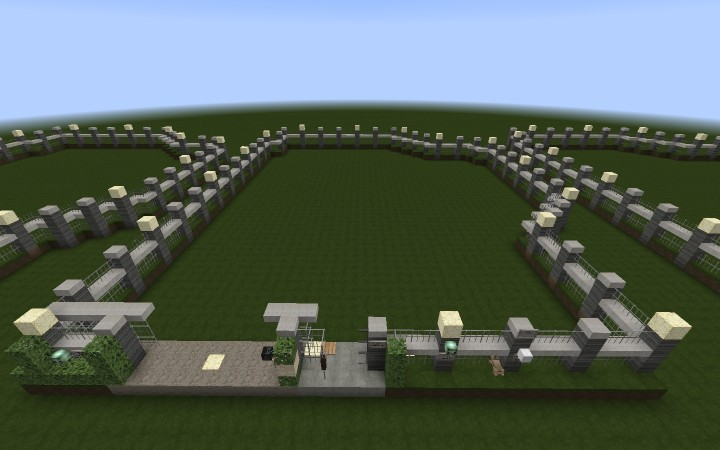 Gated community official fence plot minecraft project the fence plot workwithnaturefo