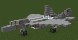 Sukhoi / HAL FGFA Su-50 | Indian Air Force - 1:1 Scale Minecraft Map & Project