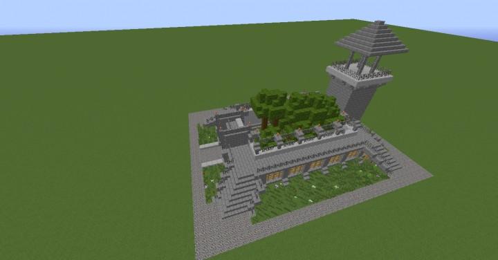 Jurassic Park Velociraptor Hatchery Minecraft Project