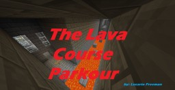 The Lava Course Parkour Map Minecraft Map & Project