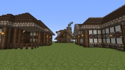 Houses and Blacksmith Minecraft Map & Project