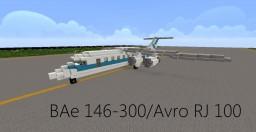 BAe 146-300/Avro RJ 100 Minecraft Map & Project
