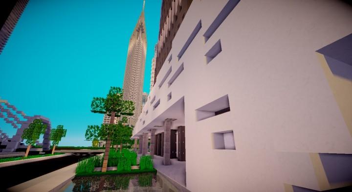 Astana Tower Minecraft Project