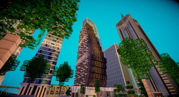Astana Tower Minecraft Project