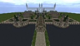 Royal Marriage Palace and Gardens Minecraft