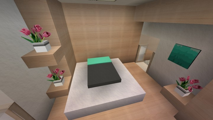 Minecraft Interior Design Simple Modern Apartment Interior Design - Minecraft hauser modern