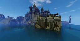 Town of Aldhurst Minecraft Map & Project