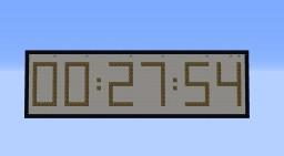 Digital clock 24h [1.8]