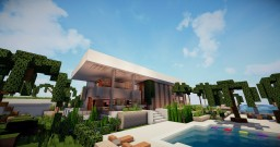Modern house n°5 Minecraft Map & Project