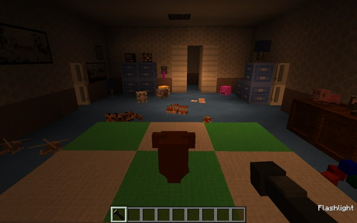 Fnaf 4 modded edition out now minecraft project