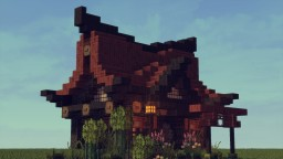 Japanese style for buildings/houses Minecraft