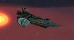 [Trade Fed] Battleship TFS Dalea Minecraft