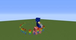 Nyan Pig (Rideable Nyan Cat) Minecraft Map & Project