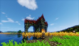 My Survival UHC Fantasy House Minecraft Project
