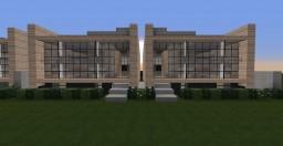 """Bento Box"" Modern Duplex/Condos Minecraft Project"